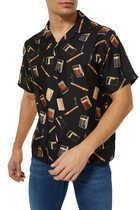 قميص بولينغ بطبعة دوبونت