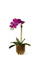 باقة زهور أوركيد صناعية