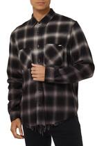 قميص فلانيل بنقشة مربعات