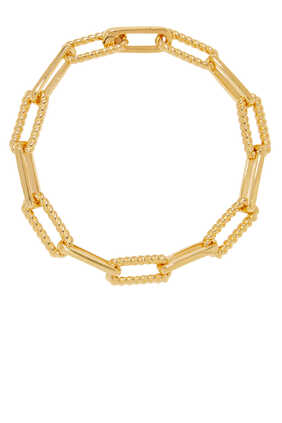 سوار كوتاري بتصميم سلسلة بلون ذهبي