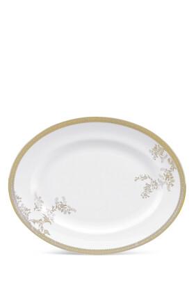 طبق بيضاوي فيرا وانغ ليس بلون ذهبي