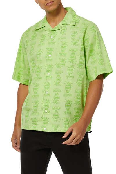 قميص رهاد بنقشة وجه