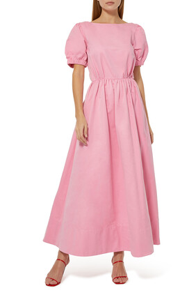 فستان أليكس فاي طويل بظهر مكشوف