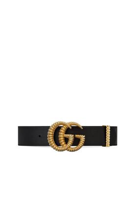 حزام جلد بشعار حرفي G