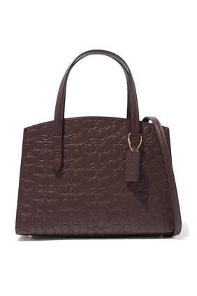 حقيبة يد تشارلي بشعار الماركة
