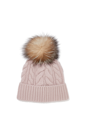 قبعة بكرة بوم بوم