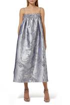 فستان بشريط جاكار