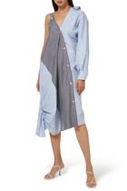فستان إيلين قطن بوبلين