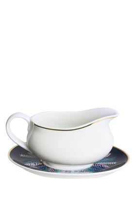 وعاء صلصلة وطبق تالا