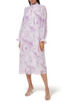 فستان جورجيت بطيات