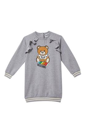 فستان بنقشة الدب تيدي