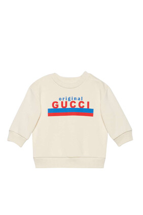 سويت شيرت بطبعة Original Gucci