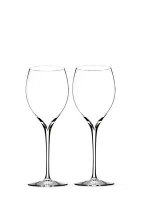 طقم كأس بساق طويلة إليجانس كريستال، قطعتان