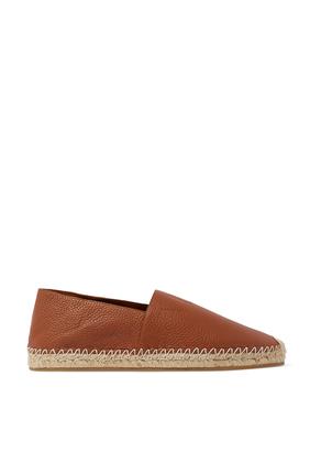 حذاء إسبادريل جلد بشعار