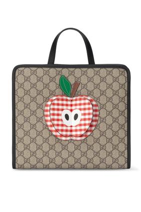 حقيبة يد بطبعة تفاحة