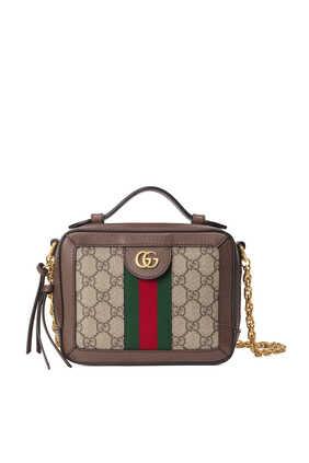 حقيبة كتف أوفيديا ميني بحرفي GG