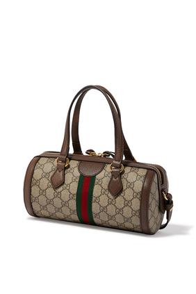 حقيبة بوسطن أوفيديا صغيرة بشعار GG