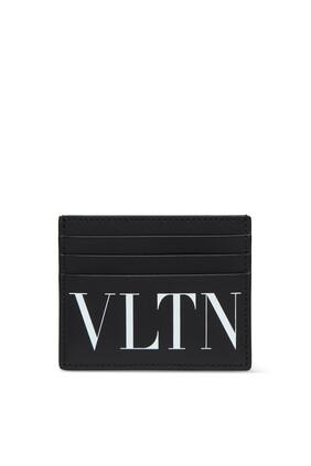 حافظة بطاقات فالنتينو غارافاني جلد بشعار VLTN