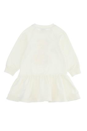فستان مزين بدب