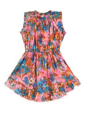 Estelle Flip Dress:Pink :4Y