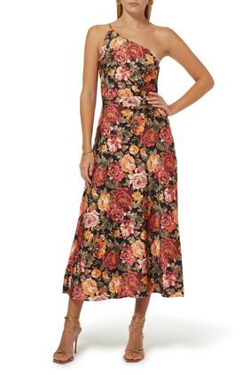 فستان أفينيو متوسط الطول