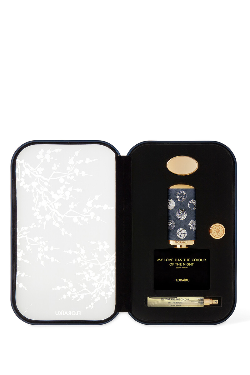 Floraiku Refill My Love Has The Color Of The Night EDP 60ml image number 1