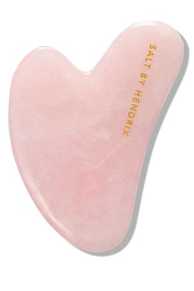 أداة جوا شا من حجر الكوارتز الوردي لنحت الوجه