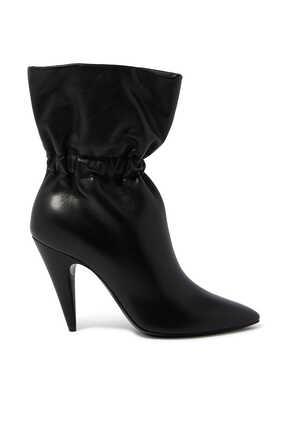 حذاء بوت إتيان 95 بتصميم مجعد