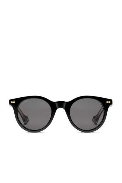 نظارة شمسية أسيتات بعدسات دائرية