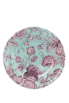 طبق كينجسلي بنقشة زهور