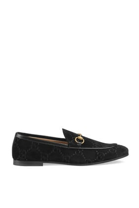 حذاء غوتشي جوردان مخملي سهل الارتداء