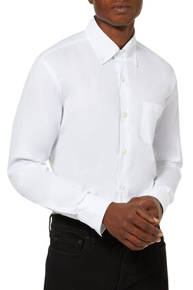قميص بياقة وصف أزرار
