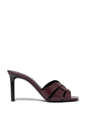 حذاء تريبيوت مفتوح من الخلف جلد