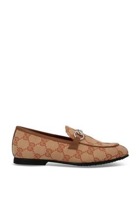 حذاء سهل الارتداء قنب بحرفي GG