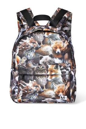 حقيبة ظهر بطبعة حيوانات
