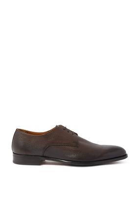 حذاء ديربي كافي جلد