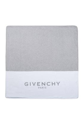 بطانية قطن بشعار الماركة