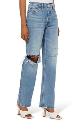 بنطال جينز ناينتيز مريح