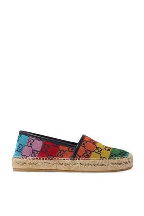 حذاء إسبادريل متعدد الألوان بشعار GG