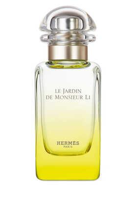 Le Jardin de Monsieur Li, ماء تواليت