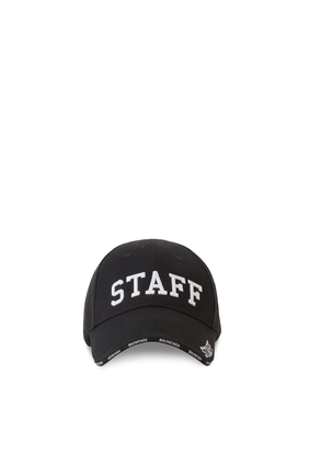 كاب بيسبول مطرز بكلمة Staff