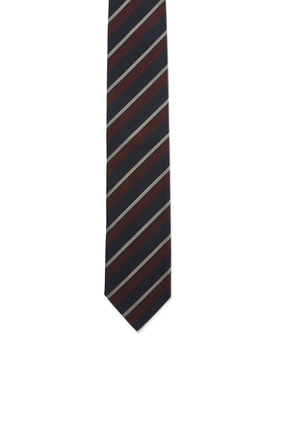 ربطة عنق مخططة