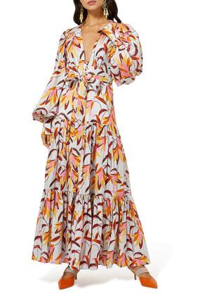 فستان اتلانتيك بطبقات