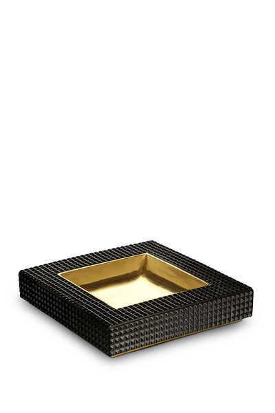صينية بيبليوتيك مربعة