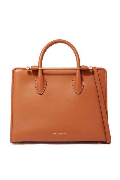 حقيبة يد اليجرو جلد متوسطة الحجم