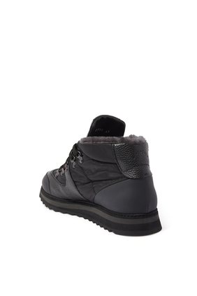 حذاء بوت هايكينغ جلد ونايلون