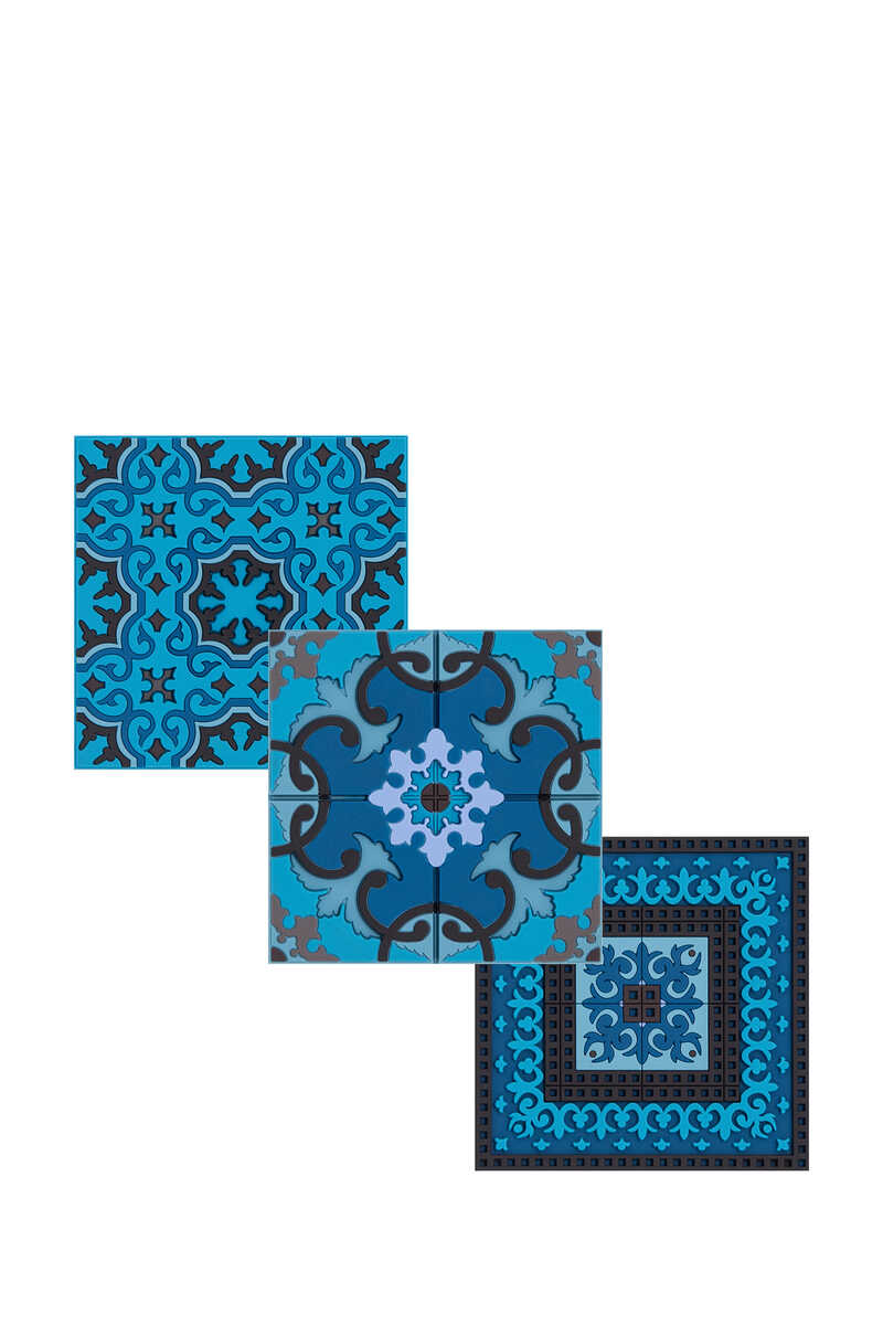 IDO S/6 Coaster Blue's Combo:Multi Colour:One Size image number 1