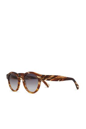 نظارة شمسية ليونارد بإطار دائري