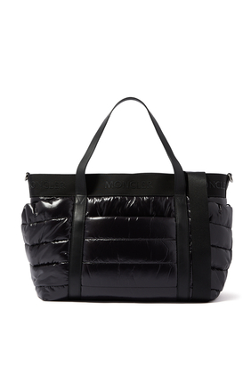 حقيبة للأم بتصميم مبطن