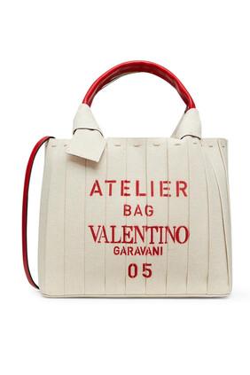 حقيبة يد فالنتينو غارافاني أتيليه صغيرة قنب